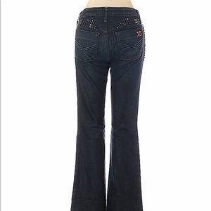 Joes Jeans Dark Wash Studded Jeans